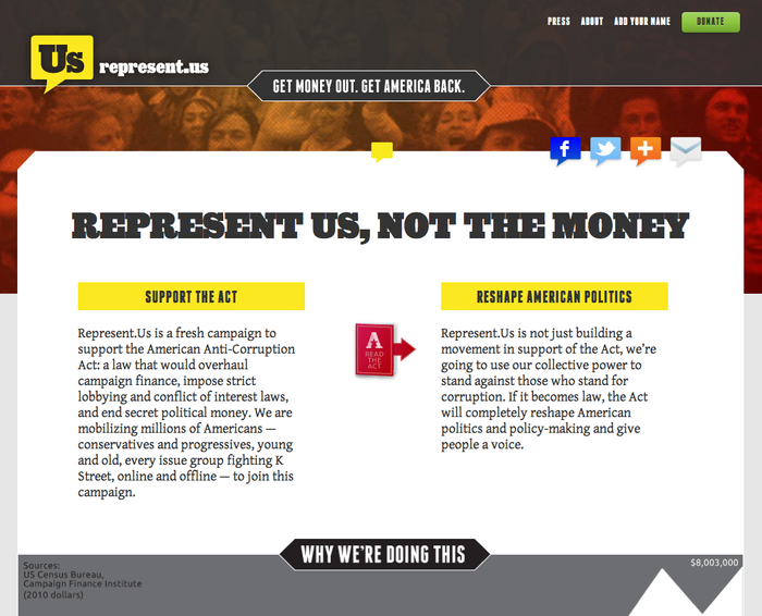 Represent.us Campaign 1
