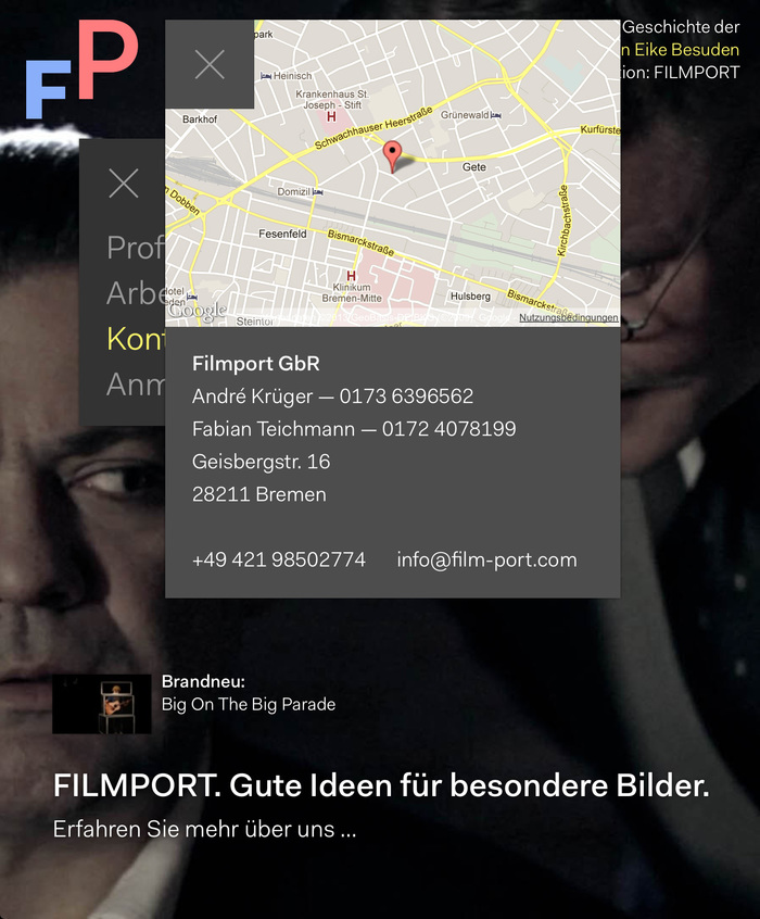 Filmport Website 3