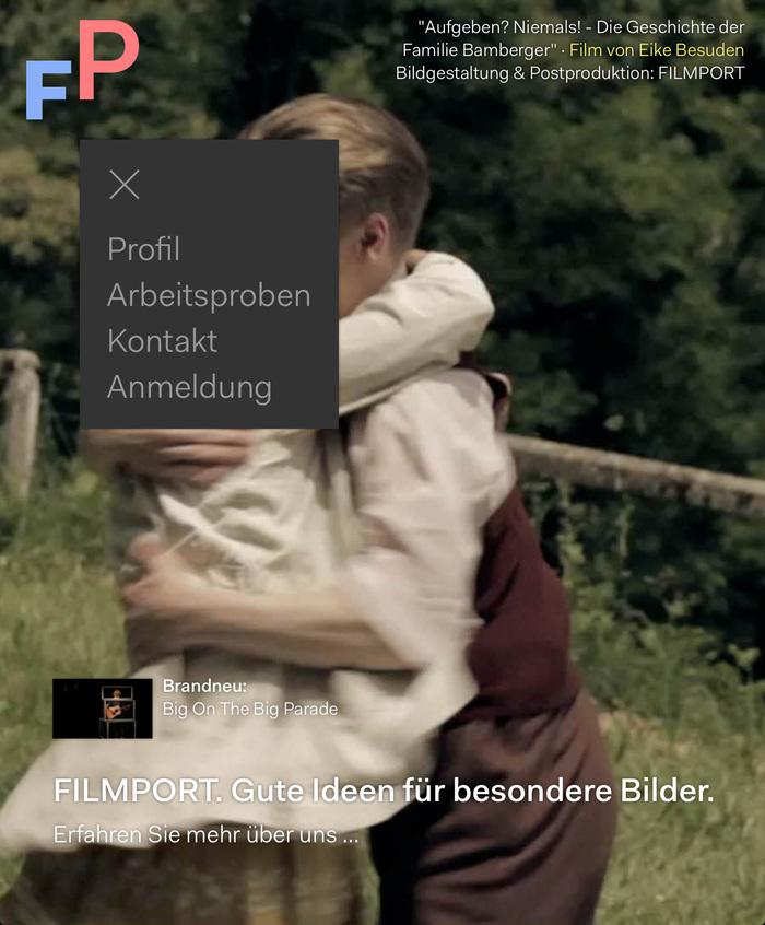 Filmport Website 4
