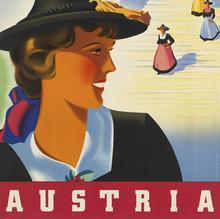 Austria (Österreichische Verkehrswerbung) Travel Poster