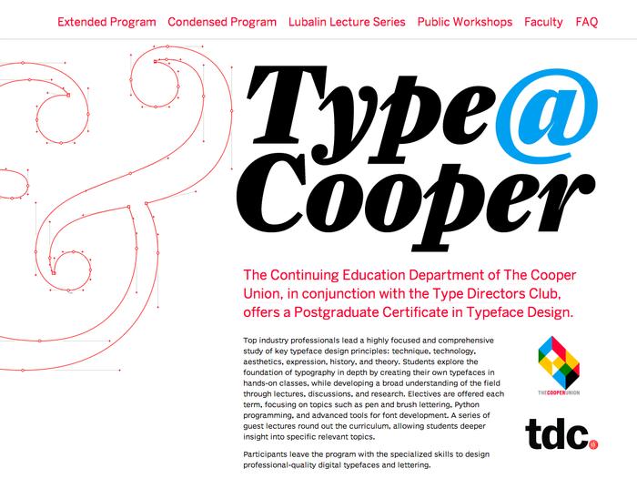 Type@Cooper 1