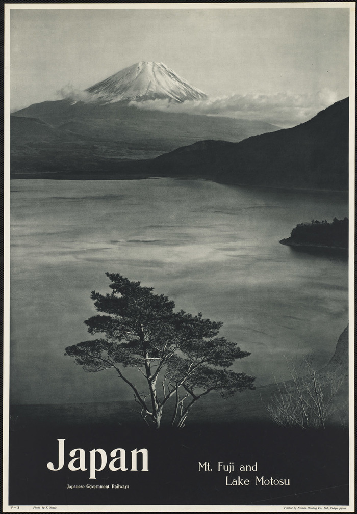 1950s Japan Travel Posters 1