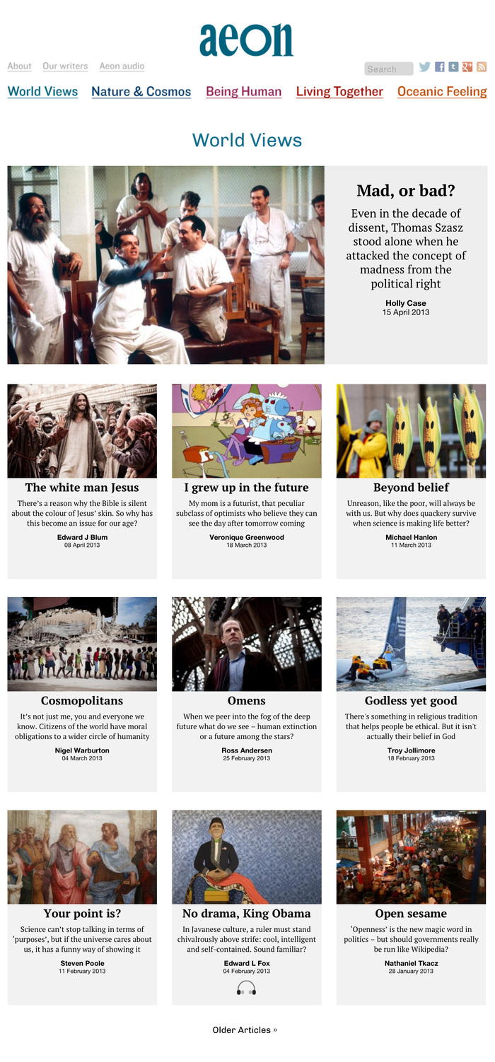 Aeon magazine 3