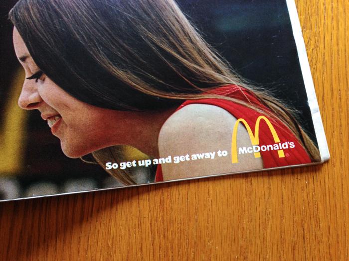 """McDonald's Ad: """"You Deserve a Break"""" (1971) 2"""