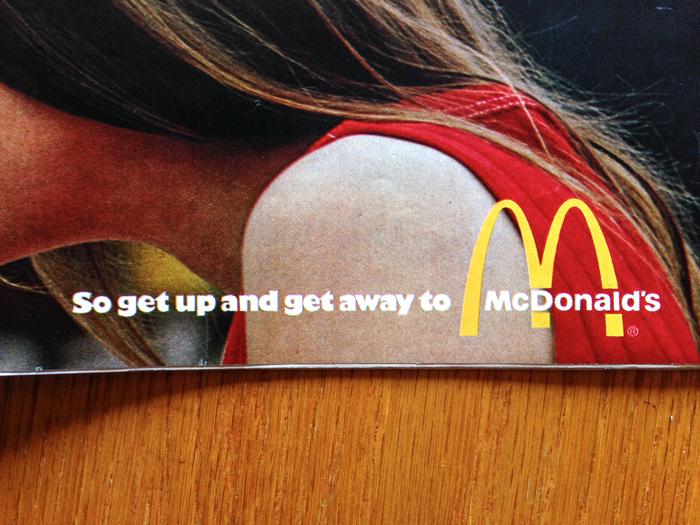 """McDonald's Ad: """"You Deserve a Break"""" (1971) 3"""