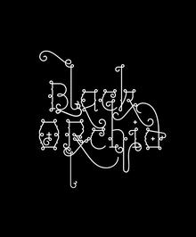 <cite>Tokion</cite> Magazine: Black Orchid Illustration