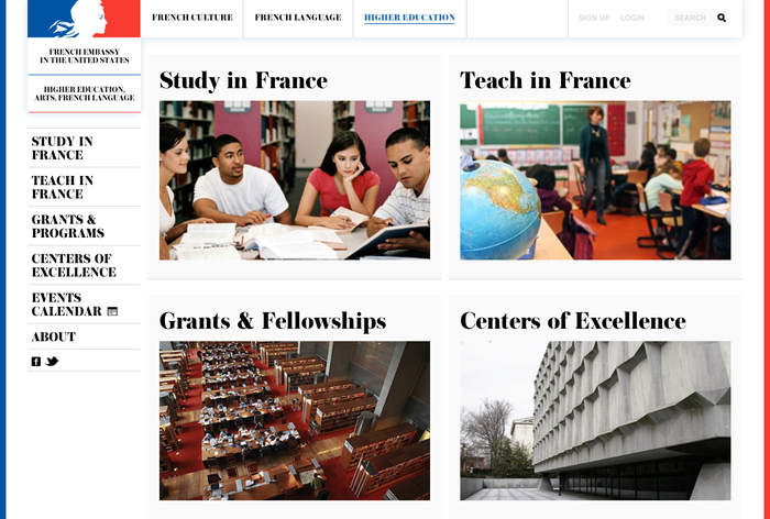 French Culture website 4