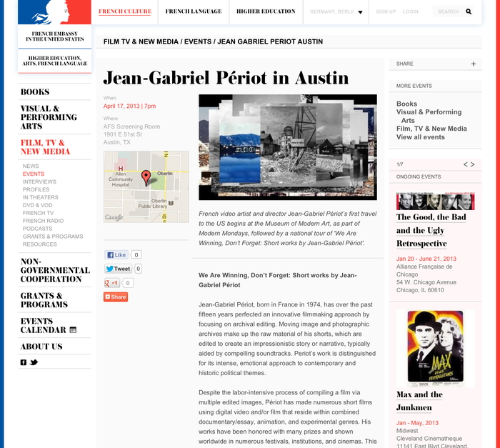 French Culture website 5