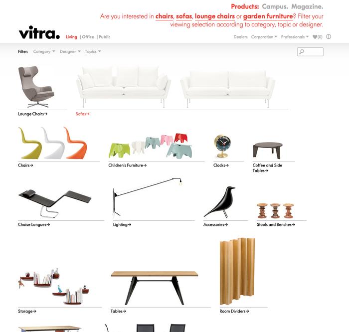 Vitra website (2013) 1