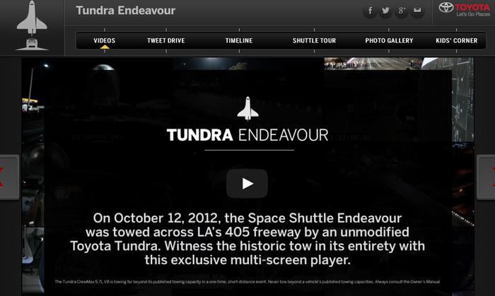 Tundra Endeavor 1
