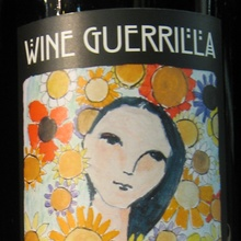 Wine Guerrilla labels