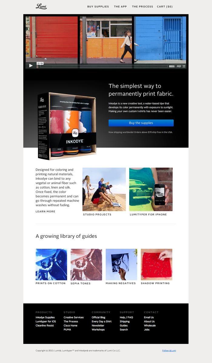 """""""Desktop""""-sized website"""
