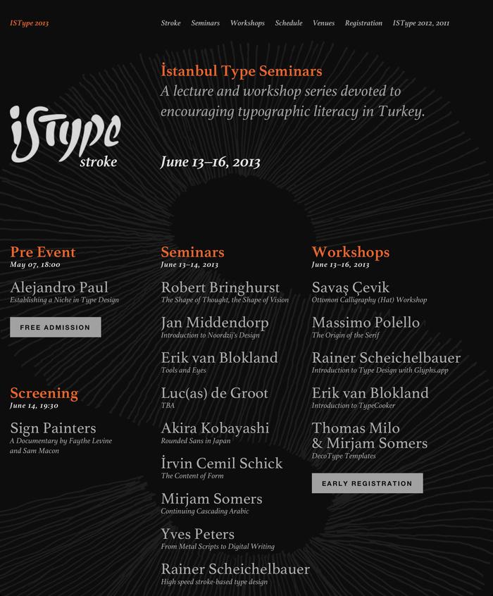 ISType 2013 – Stroke, Istanbul (TR), 13–16 June 2013 1