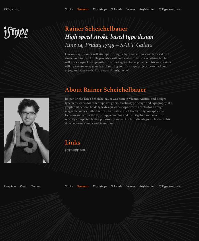 ISType 2013 – Stroke, Istanbul (TR), 13–16 June 2013 2