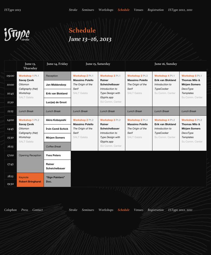 ISType 2013 – Stroke, Istanbul (TR), 13–16 June 2013 3