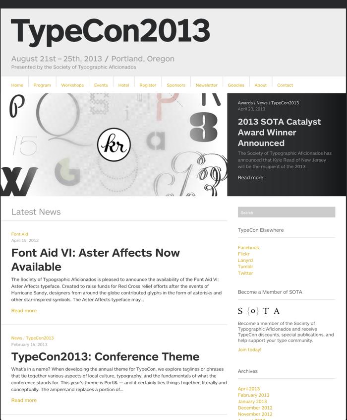 TypeCon2013 Portl&, Portland (US) 21–25 August 2013 1