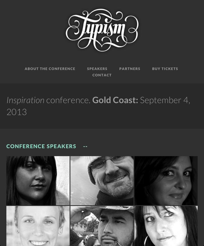 Typism, Gold Coast (AUS), 4 September 2013 1