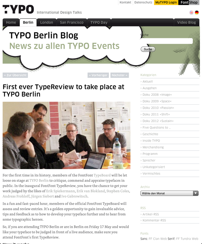 TYPO Berlin 2013 – Touch, Berlin (D), 16–18 May 2013 5