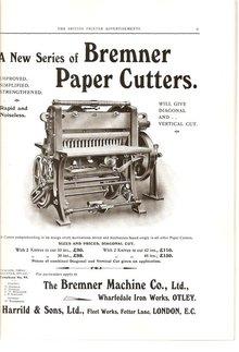 Ads from <cite>The British Printer</cite>, 1914