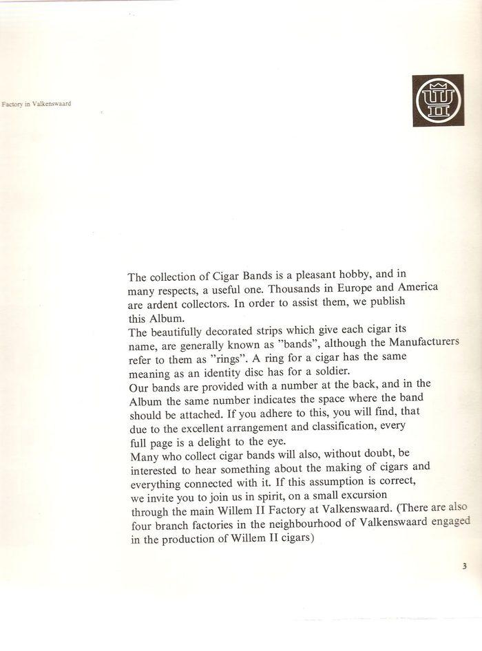 Willem II Cigar Bands Album (1966) 2
