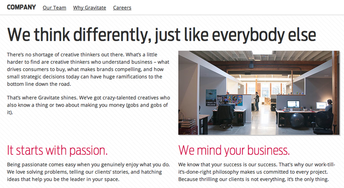 Gravitate Digital Marketing and Design Agency 3
