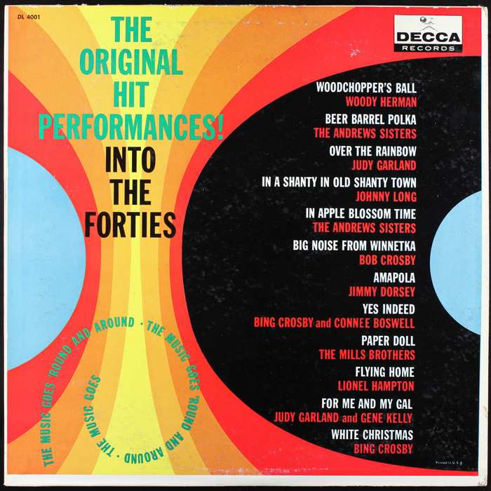 The Original Hit Performances!, Decca Records 3