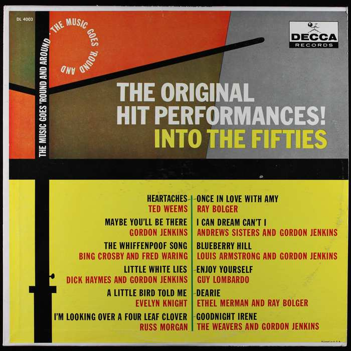 The Original Hit Performances!, Decca Records 4