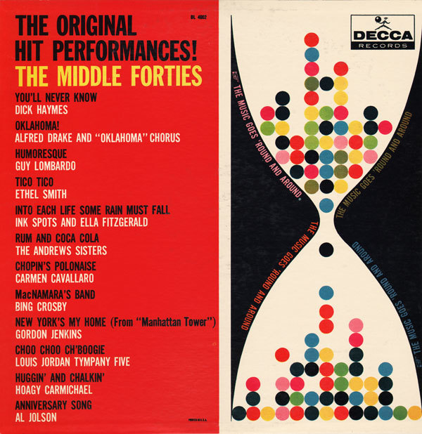 The Original Hit Performances!, Decca Records 5