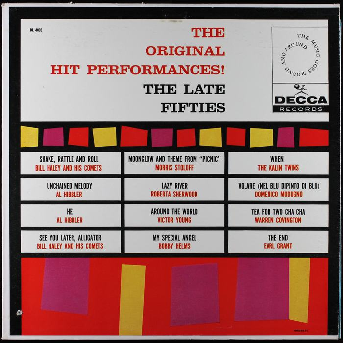 The Original Hit Performances!, Decca Records 6