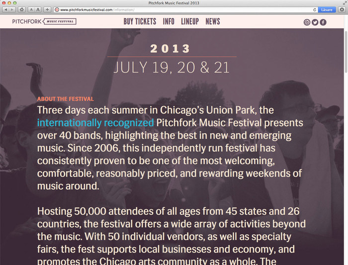 Pitchfork Music Festival, 2013 4