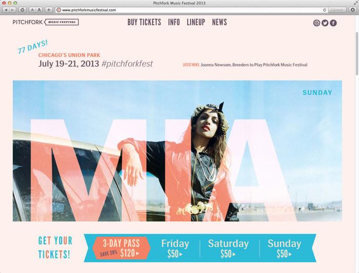 Pitchfork Music Festival, 2013 6