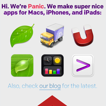 Panic Website