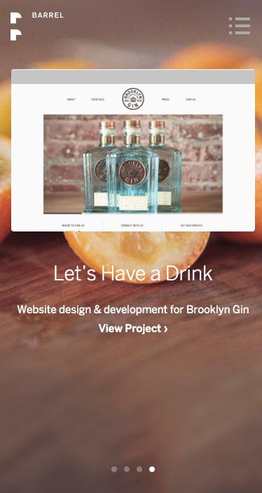Barrel Website 1