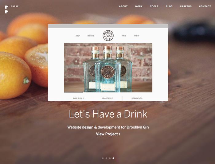 Barrel Website 2