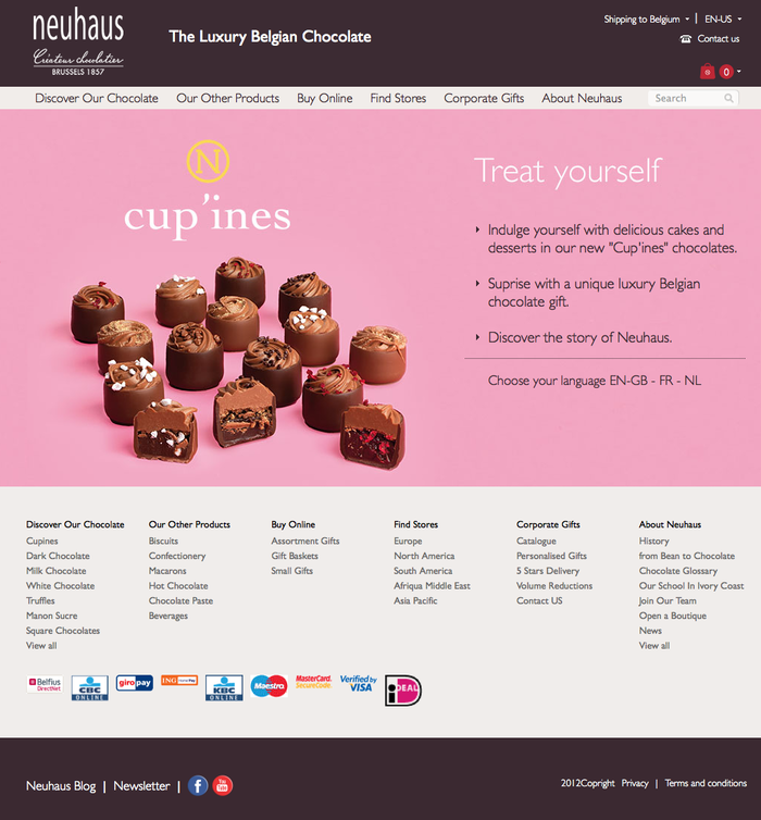 Neuhaus Chocolates 1