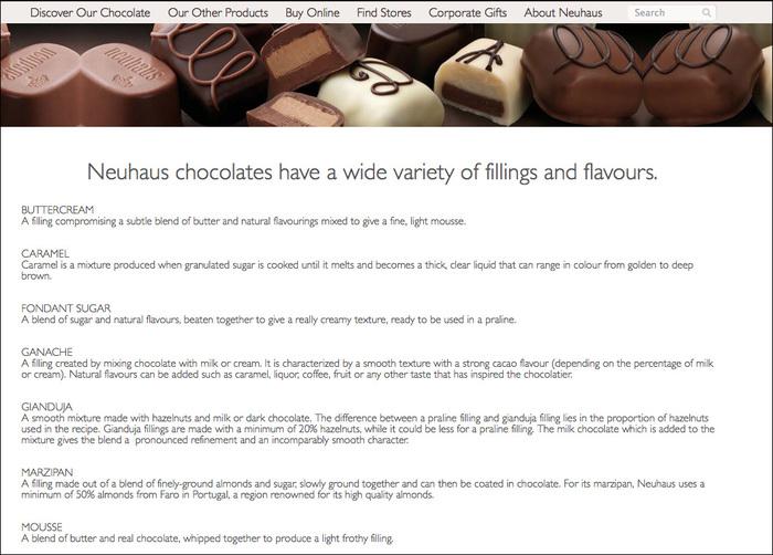 Neuhaus Chocolates 2