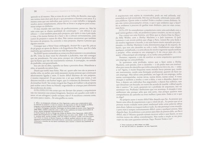 Fragmentos de um discurso, Vítor Figueiredo 2