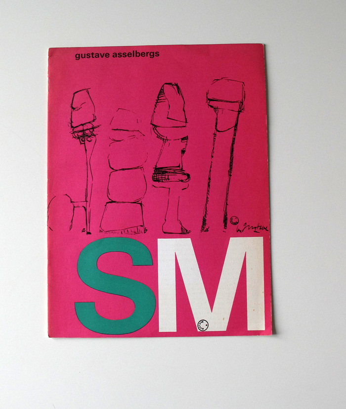 Catalog covers for Stedelijk Museum 3