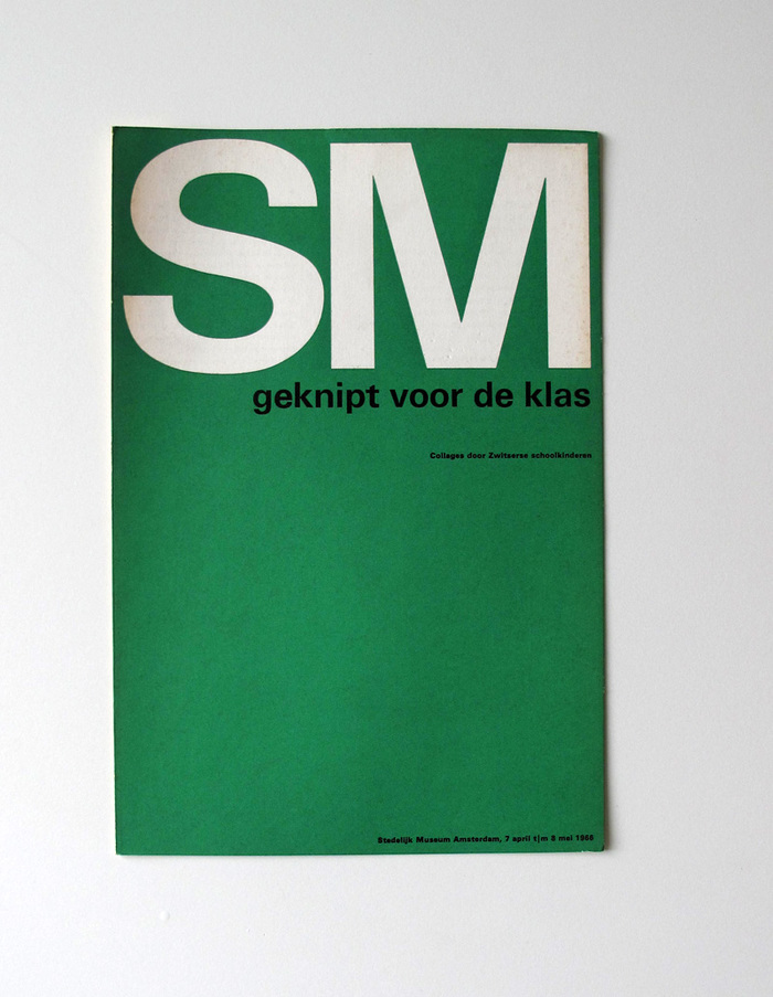 Catalog covers for Stedelijk Museum 5