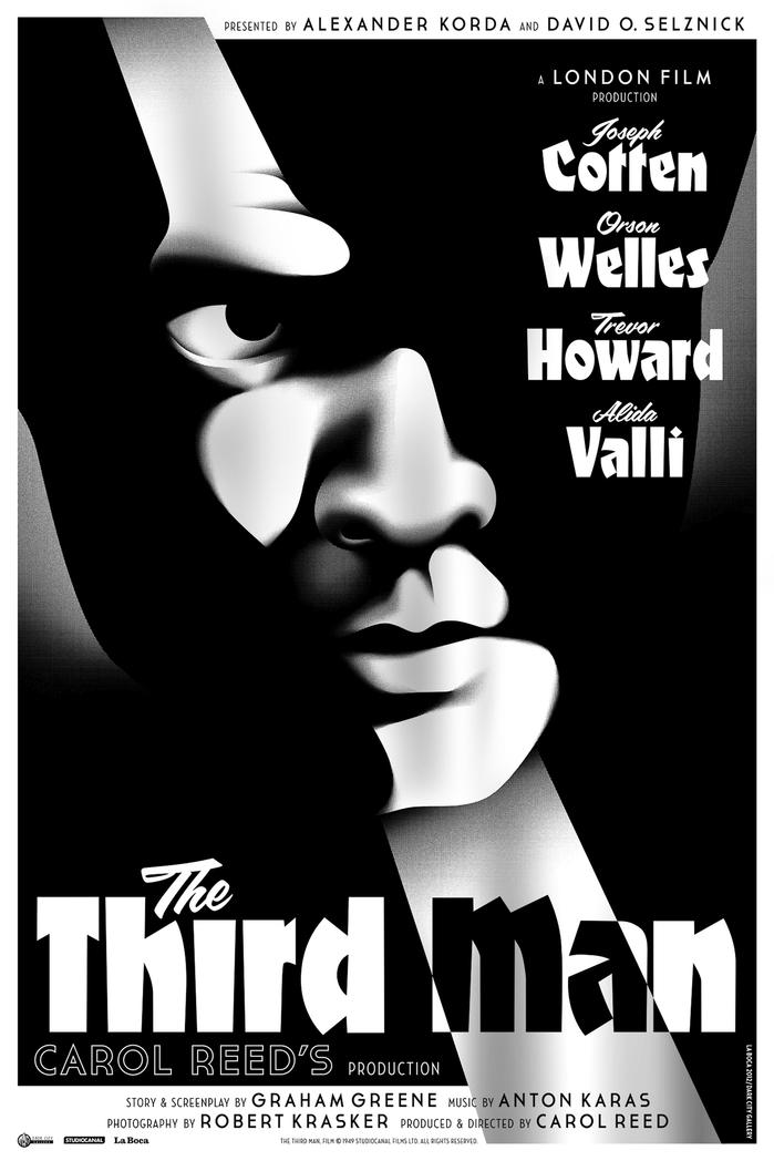 The Third Man movie poster 1