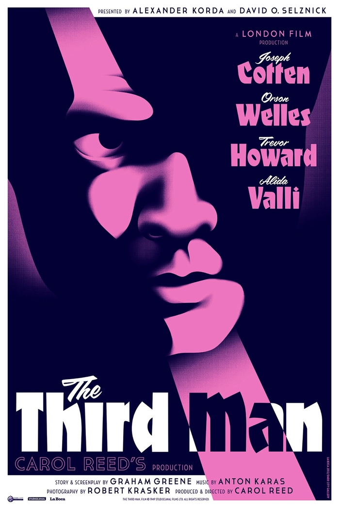 The Third Man Movie Poster 2