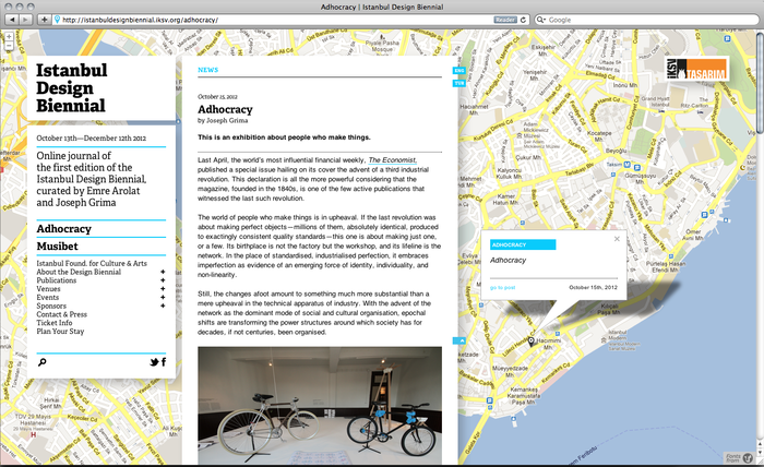 Istanbul Design Biennial Blog