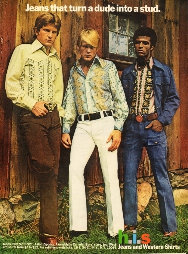 H.I.S Menswear Advertising (1960s–70s) 2