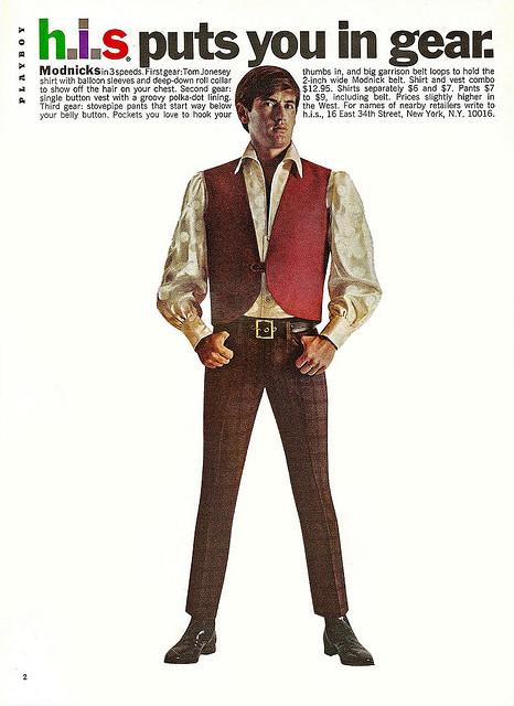 H.I.S Menswear Advertising (1960s–70s) 3