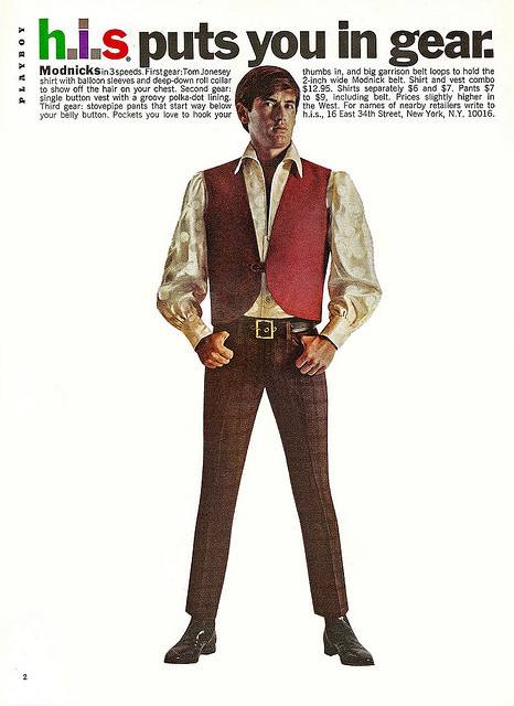 H.I.S Menswear Advertising (1960s–70s) 3