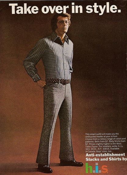 H.I.S Menswear Advertising (1960s–70s) 4