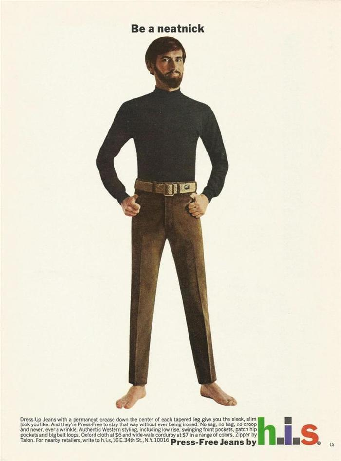 H.I.S Menswear Advertising (1960s–70s) 6