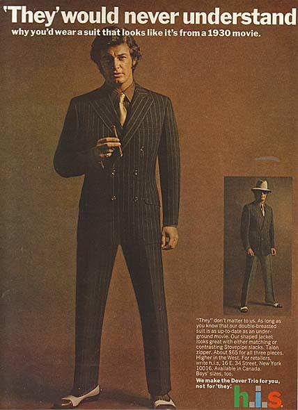H.I.S Menswear Advertising (1960s–70s) 7