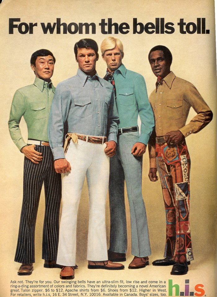 H.I.S Menswear Advertising (1960s–70s) 8