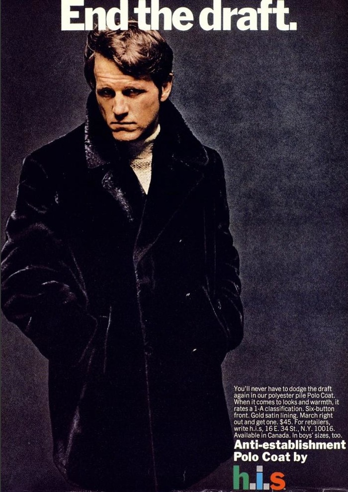 H.I.S Menswear Advertising (1960s–70s) 10